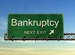 Healthcare Bubble - Bankruptcy