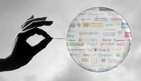 Social Media Bubble Image